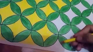 Motif Bunga Cara Menggambar Batik Dibuku Gambar Yang Mudah Info Terkait Gambar