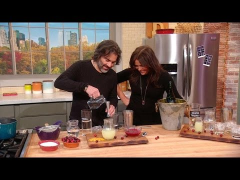 John's Cranberry Simple Syrup