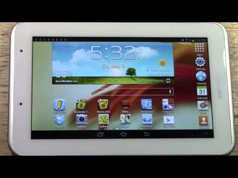 Galaxy Tab 2 7.0 - How to Get Free Apps | H2TechVideos