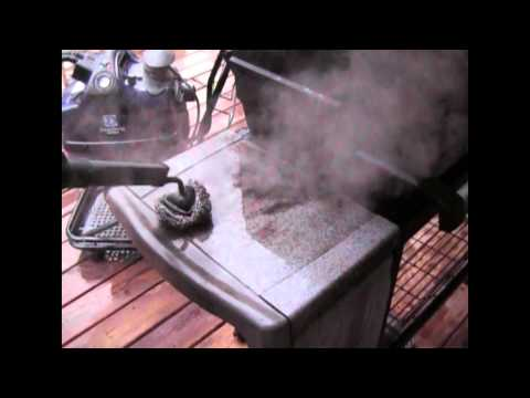 Steam Cleaning Grill With Desiderio Steam Cleaner