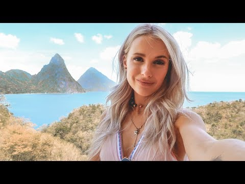HOLIDAY OUTFITS AND INSANE HOTEL ROOMS IN ST LUCIA   VLOG 95