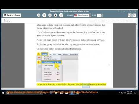 ExpressVPN Guide: Disable proxy server in Safari for Mac