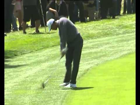 Tiger Woods - 2012 - DTL - 7 Iron - Punch Draw