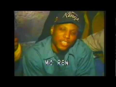 MC REN,COLD 187um & EAZY-E Interview (1992/1993) RARE VIDEO !