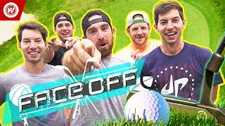 dude perfect golf face off jon rahm wesley bryan