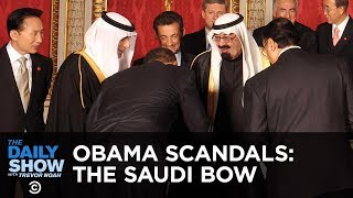 Obama's Saudi Bow: The Worst Scandal in Presidential History   The Daily Show