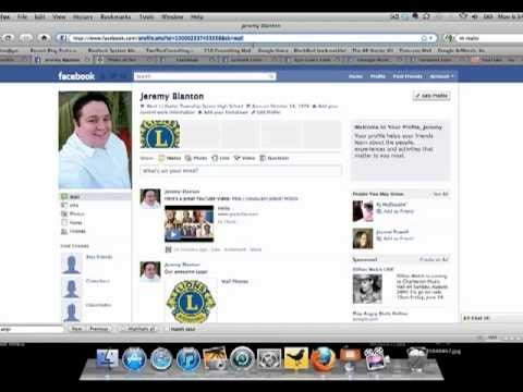 Setting Up a Lions Club Facebook Page