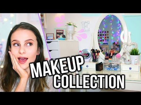 MAKEUP COLLECTION & VANITY TOUR 2017 / Lovevie