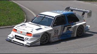 630HP VW Golf Mk2 Rallye TFSI-R - Turbo E1 Hillclimb Monster by Karl Schagerl!