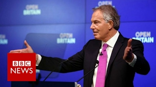 Tony Blair calls for people to
