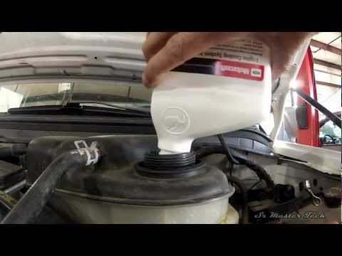 6.0 Liter Ford Powerstroke - Flushing the Cooling System with VC9