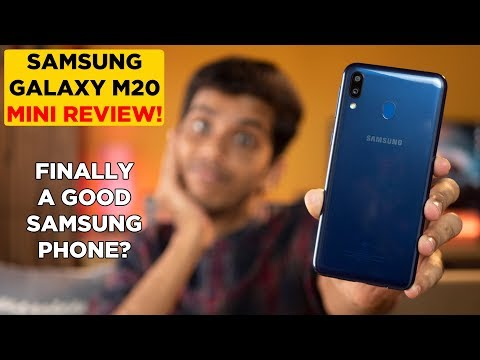 Samsung Galaxy M20 mini Review after 7 days of usage! Better than Redmi Note 6 Pro?