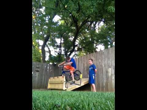 Homemade BMX Gate