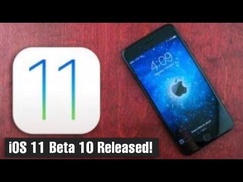 iOS 11 Beta 10 Released!