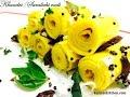 Khandvi-Suralichi vadi-Surali Vadi-Gujrati Authentic Khandvi Recipe-Easy Khandvi recipe