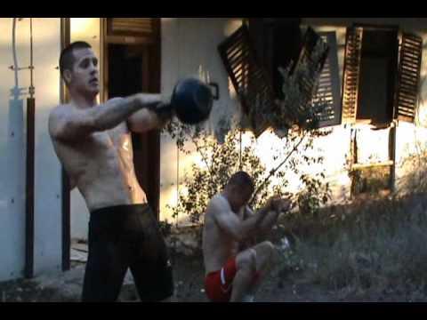ZUGAJ BROTHERS - greco roman wrestling training (HRVANJE), Part II.wmv