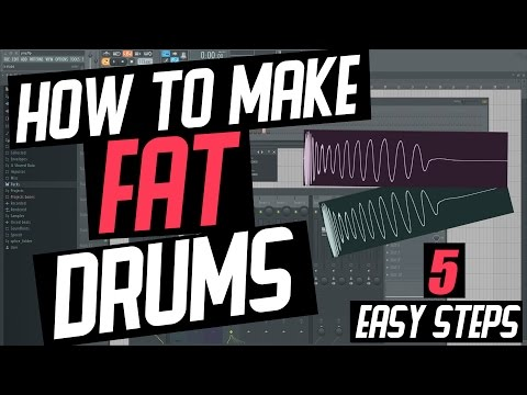 FL Studio 12 - Fat Powerful Drums in 5 Easy Steps