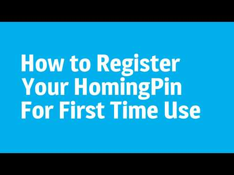 Updated How to Register Your Homing Pin Asset Loops and Asset Tags