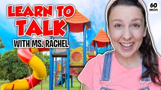 Learn To Talk for Toddlers - First Words - Toddler Speech Delay - Learning at an Outdoor Playground