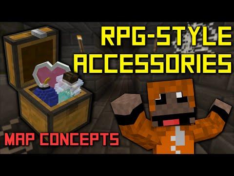 Minecraft Map Ideas - RPG-Style Accessories