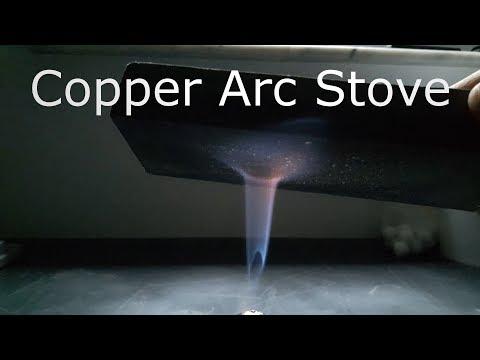 DIY Copper Arc Stove