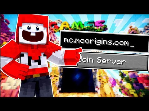 MINECRAFT SERVER. (MCOrigins Server Update)