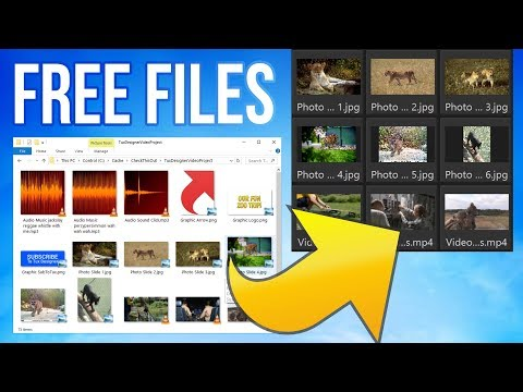 Free Video Editor Test Files Pack (MP4, MP3, JPG, PNG) ~ Sample Video Project