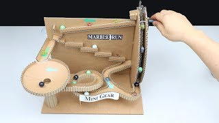 Wow! Amazing DIY Marble Run Machine without DC Motor