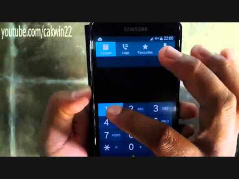 Samsung Galaxy S5: How to access voicemail (Android Phone)