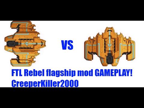 FTL Rebel Flagship mod! GET OFF MY SHIP! FTL: Faster Than Light gameplay