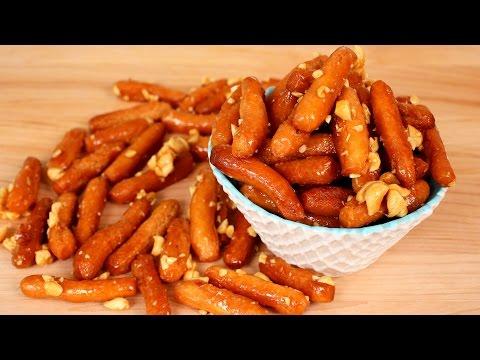 Crunchy Korean Peanut Cookies (Matdongsan: 맛동산)