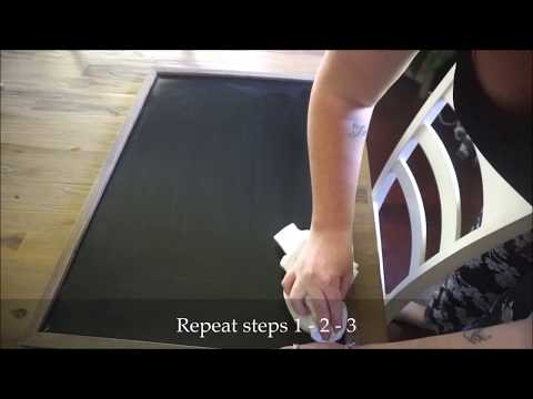 How To FULLY Clean a Chalkboard After Using Chalk Markers