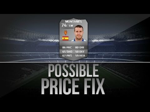 Fifa 14 Ultimate Team| POSSIBLE PRICE FIX (PS3) #2 PACO MONTANES