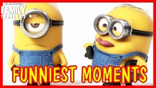 Despicable Me 1-3 | Funniest Minions moments