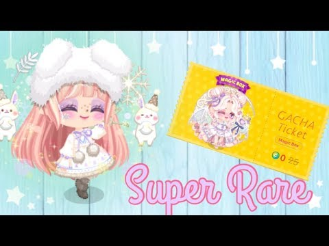 LINE Play - The Little Succubus Gacha Ticket - Super Rare!