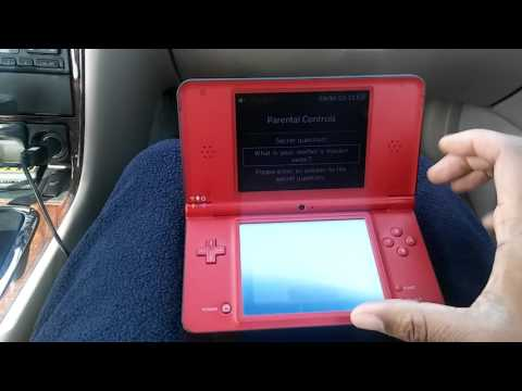 How To Factory Reset DSI XL With Forgotten Password / Parental Code