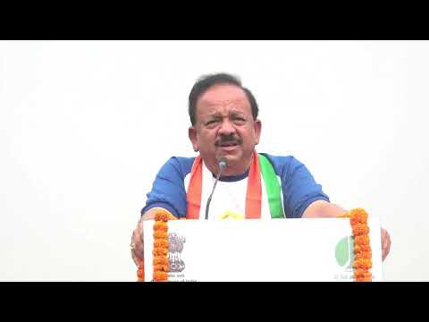 Yoga, the best prescription for a healthy body and mind: Dr Harsh Vardhan