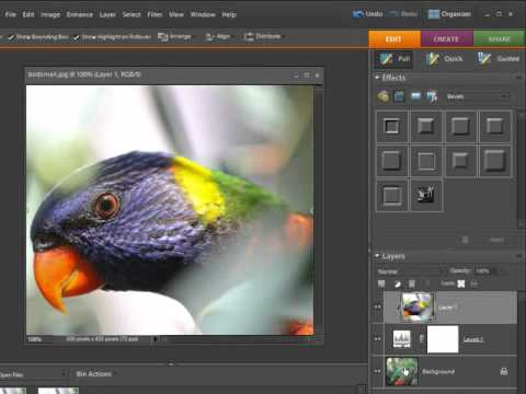 How to Apply a Layer Mask in Photoshop Elements