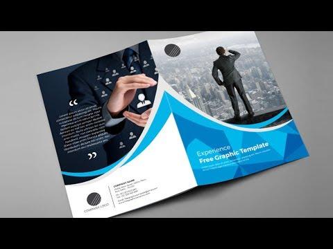 How to Design Bi fold Brochure | Brochure Design in Indesign cs6