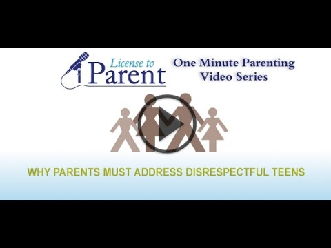 Why Parents Must Address Disrespectful Teens