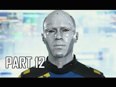 DETROIT BECOME HUMAN Gameplay Walkthrough Part 12 - BROADCAST (PS4 Pro 4K Let's Play)