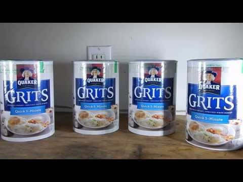 How To Store Grits Long Term - Best Method DIY - SHTF Prepping