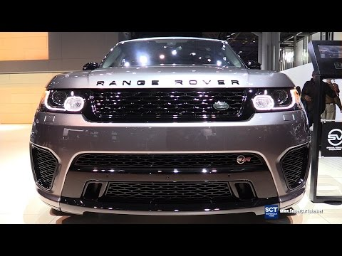 2016 Range Rover Sport SVR - Exterior and Interior Walkaround - 2016 New York Auto Show