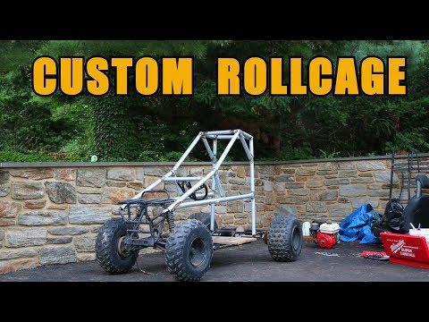 OFF ROAD GO KART BUILD PART 1: ROLLCAGE