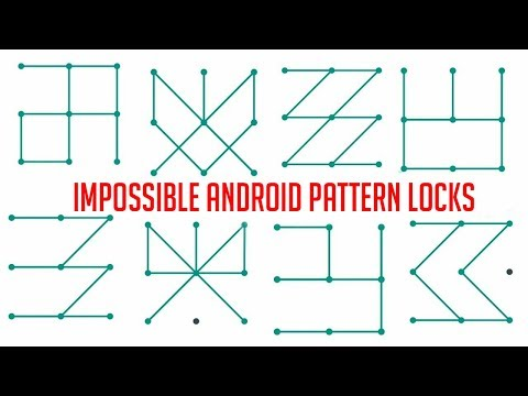Top 15 Impossible Android Pattern Lock You SHOULD Try In 2018 - Best Pattern Locks