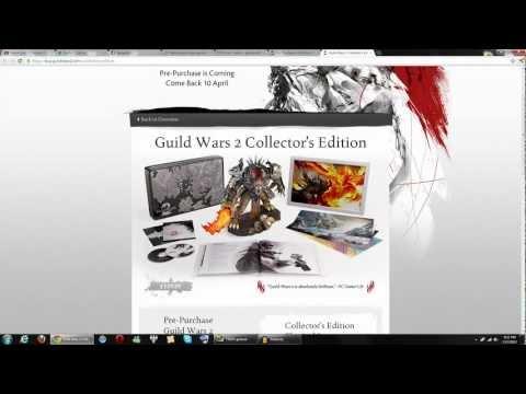 Guild Wars 2 Official Pre-Order Date w/ Beta & In-Game Bonuses