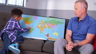 Isaiah the Geographer | Kids That Are Kind Of Amazing At Stuff with Gerry Dee