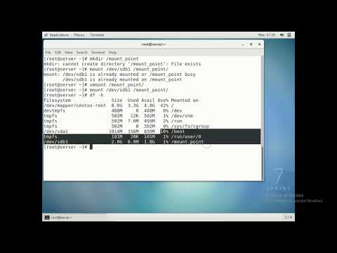 Linux Partitions || RHEL