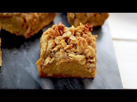 Pumpkin Pie Bars | Healthy, Gluten-Free + Dairy Free | It's Raining Flour Episode 149