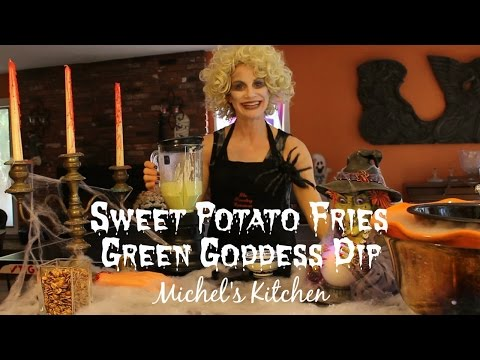 Sweet Potato Fries & Green Goddess Dip - Show 43